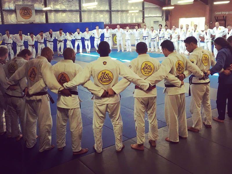 martial arts train brazilian jiu jitsu